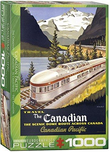 Garantía 100% de ajuste EuroGraphics EuroGraphics EuroGraphics CP Rail The Canadian 1000 Piece Puzzle by EuroGraphics  orden ahora con gran descuento y entrega gratuita