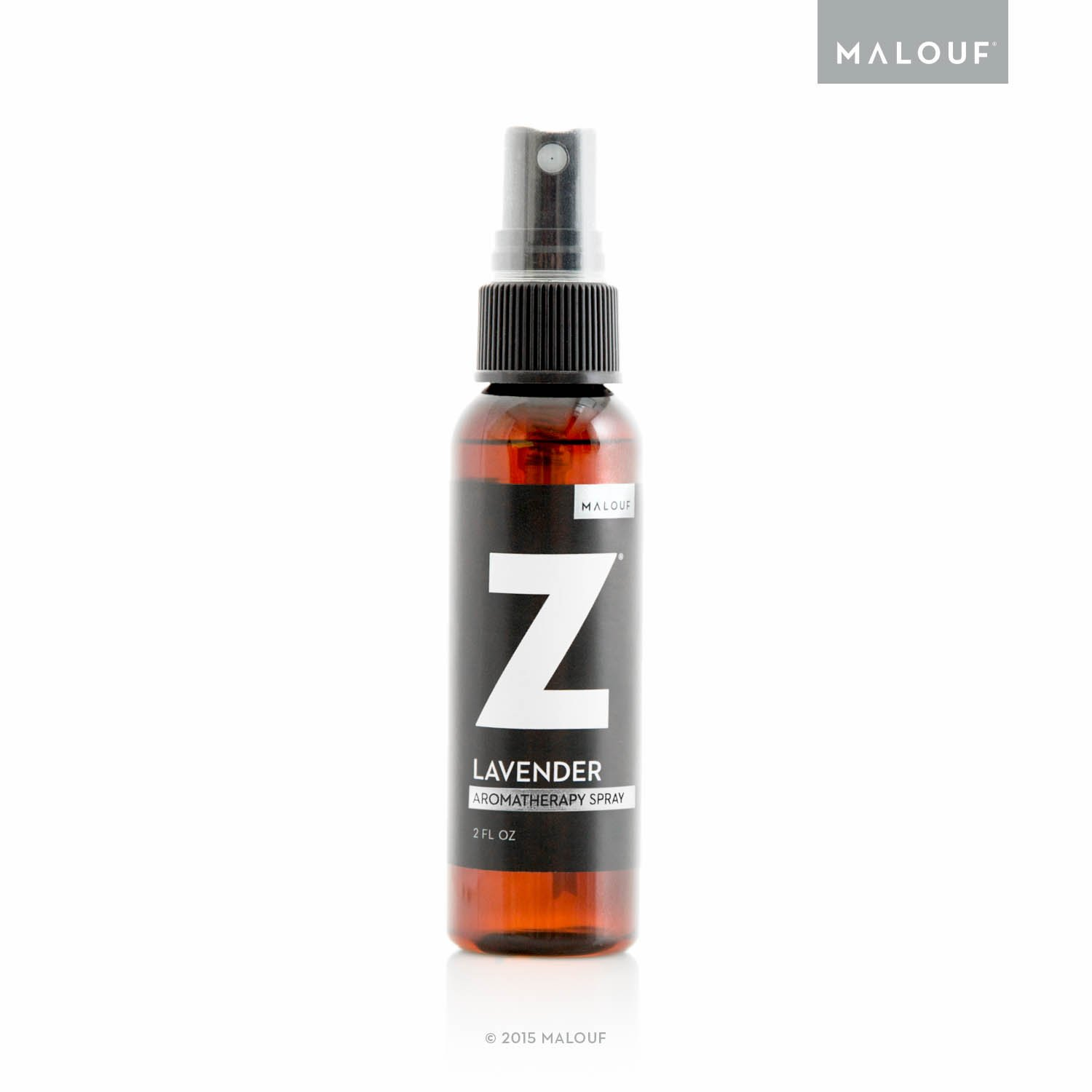 MALOUF All All Natural Z Aromatherapy Mist Made with Real Lavender Oil, 2 Ounce Spray Bottle, by MALOUF