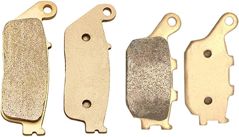Foreverun Motor Front and Rear Brake Pads for Honda VTX 1300 C 2004-2009