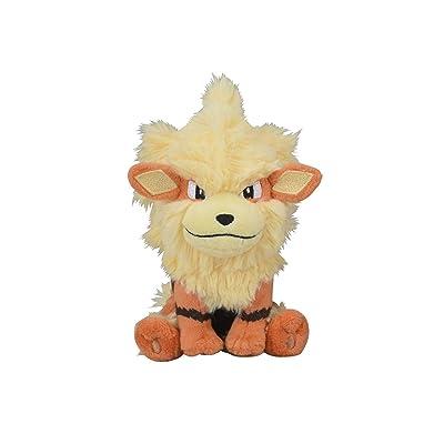 Pokemon Center Original Plush Doll Pokemon fit Arcanine 713: Toys & Games