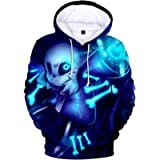 JHDESSLY Unisex Novelty Hoodies Sweatshirt Undertale Harajuku Men/Women Tracksuit Boys/Grils Causal Streetwear Pullover
