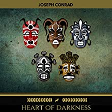 Heart of Darkness (Golden Deer Classics) Audiobook by Joseph Conrad Narrated by John Cafey