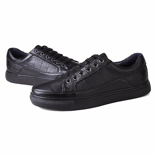 Moonwalker Zapatillas para Hombre en Cuero (EUR 46 ,Negro)
