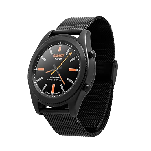 Amazon.com: Best to Buy NO.1 SUN S9 Smart Watch Calls SMS Monitor NFC Sedentary Reminder BT Music Pedometer Sleep Monitor Heart Rate UV Test for Android IOS ...
