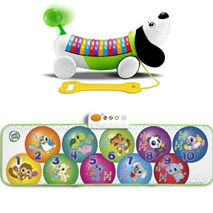 Amazon com: LeapFrog AlphaPup, Learn & Groove Musical Mat