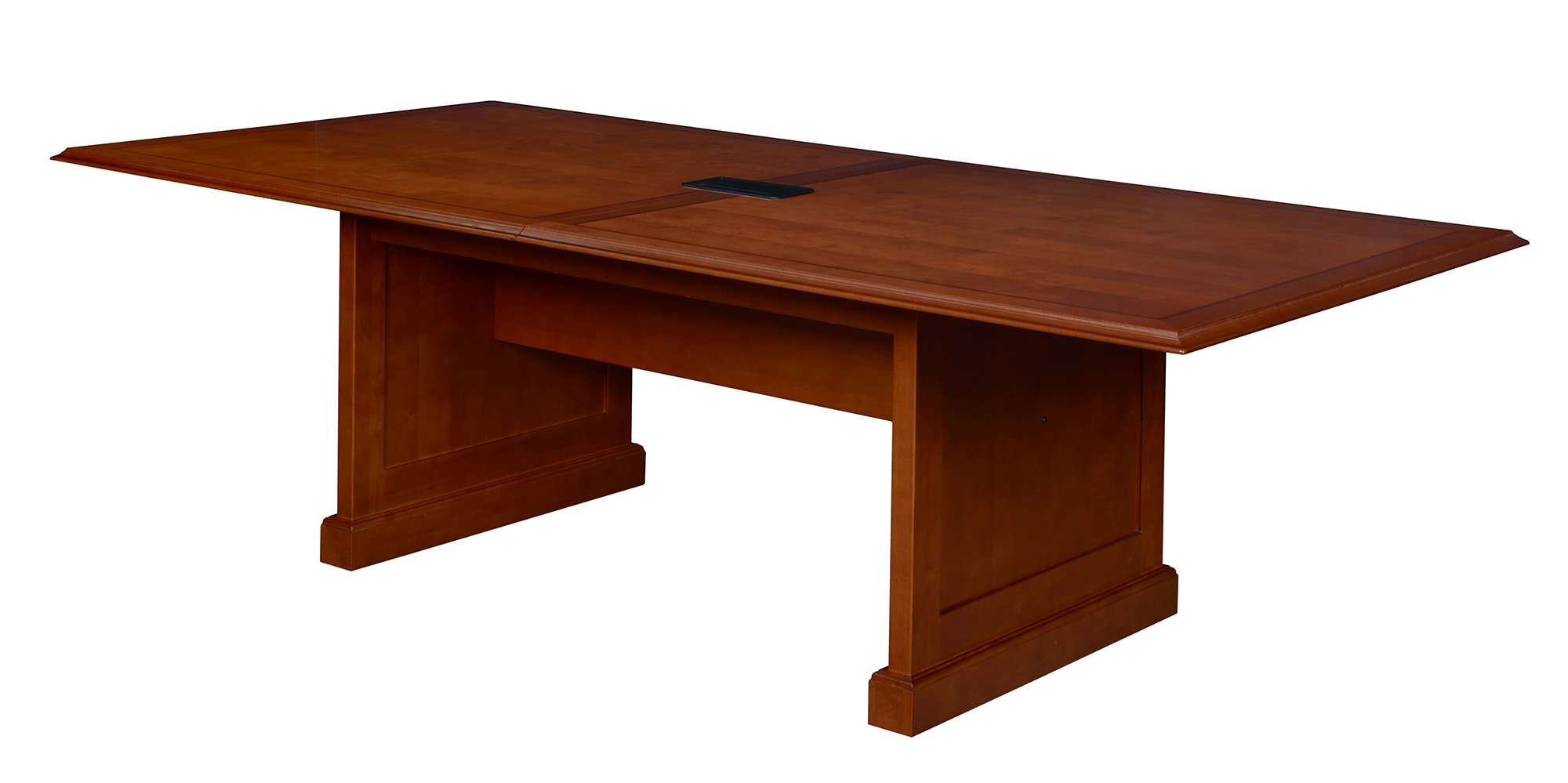 Regency TVCTRC12048CH Prestige Traditional Veneer Rectangular Conference Table, 120-inch, Cherry