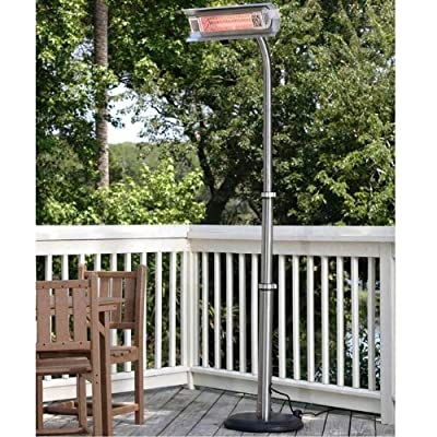 Fire Sense Telescoping Infrared Indoor/Outdoor Heater with Offset Pole-p
