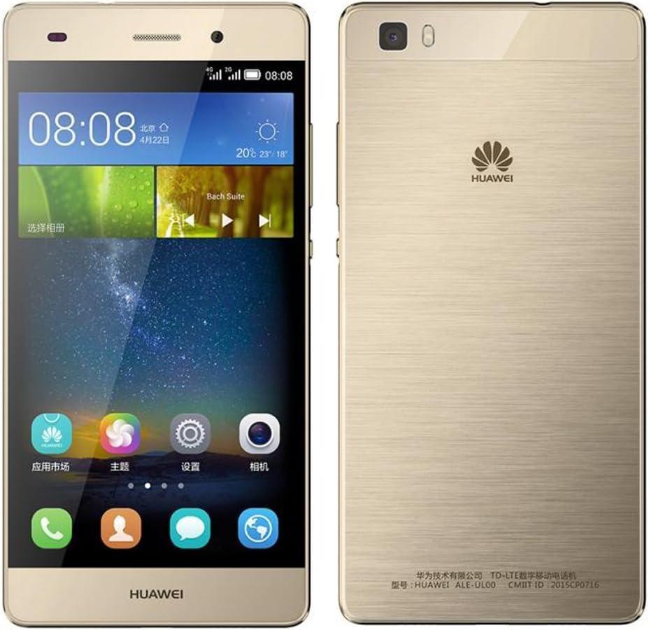 Amazon Com Huawei P8 Lite Ale L21 16gb Gold Dual Sim 5 Inch Unlocked Smartphone International Stock No Warranty Gsm Only No Cdma