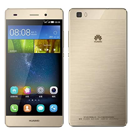 Huawei P8 Lite ALE-L21 16GB Gold, Dual Sim, 5-Inch, Unlocked Smartphone,  International Stock, No Warranty, GSM ONLY, No CDMA