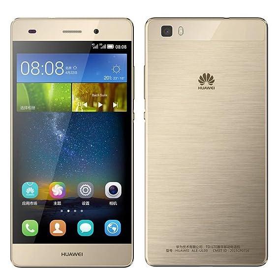 36cc94a86a4 Amazon.com: Huawei P8 Lite ALE-L21 16GB Gold, Dual Sim, 5-Inch ...