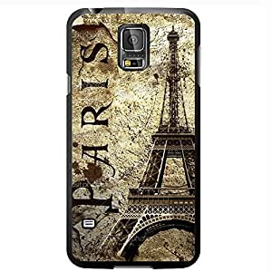 Paris and Eiffel Tower on Grunge Background Hard Snap on Phone Case (Galaxy s5 V)