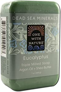 One With Nature Dead Sea Minerals Bar Soap Eucalyptus - 7 oz