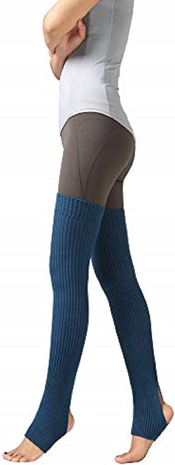 Womens Thigh High Ribbed Knit Warmers Dance and Fashion for Dance Yoga Knit Legwarmers