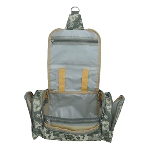 4ff0704fea Amazon.com  New Camouflage Hanging Travel Toiletry Kit Accessories ...