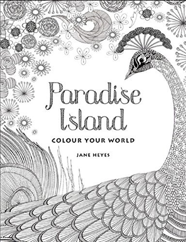 Colour Your World - Paradise Island Adult Coloring -