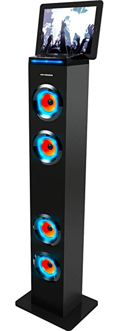 Amazon.com: ART+SOUND AR1004 Bluetooth Tower Speaker With Lights ...