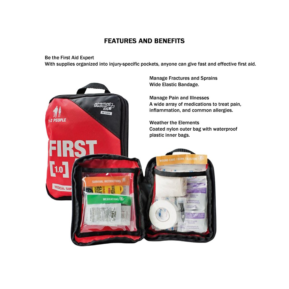 Emergency Survival Kit For Two People by Zippmo Survival Gear (Image #4)