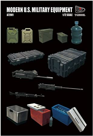 T. Model a72001 accesorios para modelismo (U.S. Military Equipment