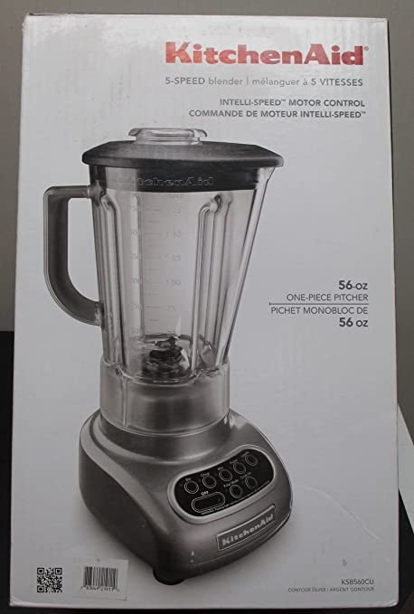 Amazon.com: KitchenAid Plata Licuadora (ksb560cu): Kitchen ...