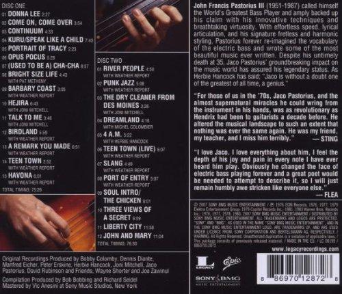 Jaco pastorius the essential jaco pastorius amazon music stopboris Choice Image