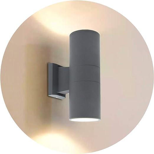 LED Lampada da parete in acciaio inox UP /& Downlight lampada muro luci esterne
