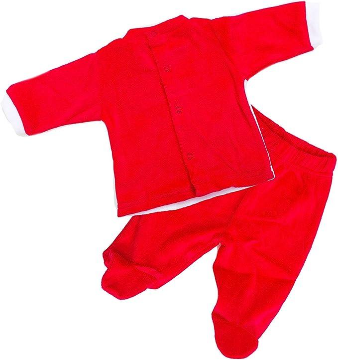 Toocool Completo Bambino Neonato 3 Pezzi Pantaloni Natale Cappello ciniglia XNO-804
