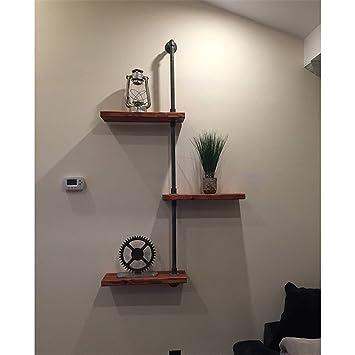 Wasserwand Wohnzimmer Massivholz Storage Wandbehang Blume Regale Wandregale  Regale