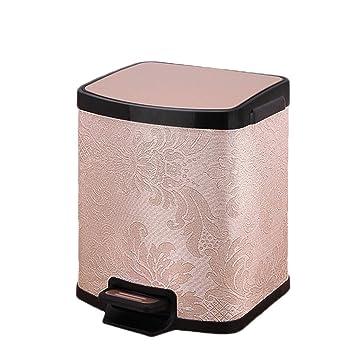 Amazon.com: Jixi Papelera de acero inoxidable para el hogar ...