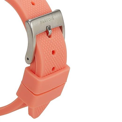 Parfois - Reloj Digital Silver Tray - Mujeres - Tallas Única - Coral: Amazon.es: Relojes