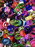 Vape Rings 15 pack Assortment Silicone Bands for RDA, RTA, Tanks, and Mods