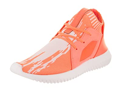 adidas Women Tubular Defiant Primeknit W Orange Sun Glow Footwear White  Size 5.0 US 5e715bb2b