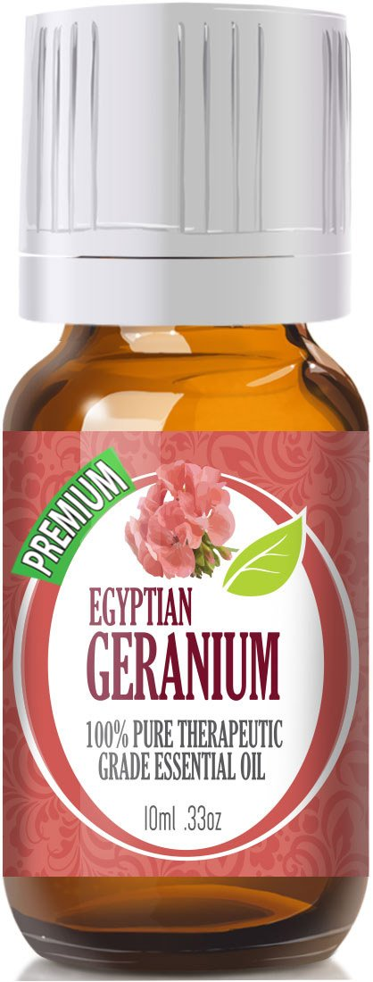 Geranium Egypt - 100% Pure, Best Therapeutic Grade Essential Oil - 10ml
