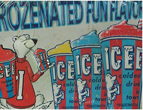 frozenated-fun-flavors-icee-metal-sign-icee-13inx9in