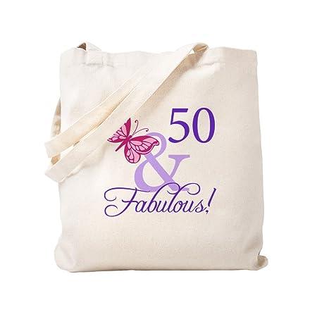 CafePress - 50th cumpleaños mariposa - Gamuza de bolsa de ...