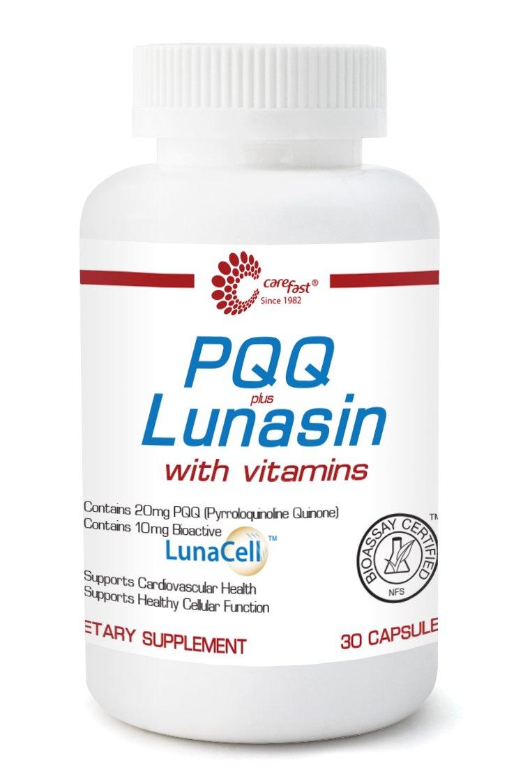 PQQ Plus Lunasin with Vitamins