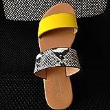 Women Flat Sandals Summer Cute Vintage 2-Strap