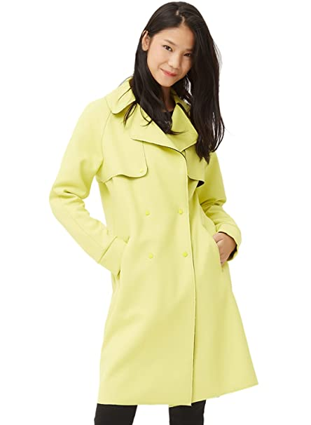 96b8cb0bf2f96 Meters/bonwe Women's Double Breasted Long Trench Coat with Pockets ...