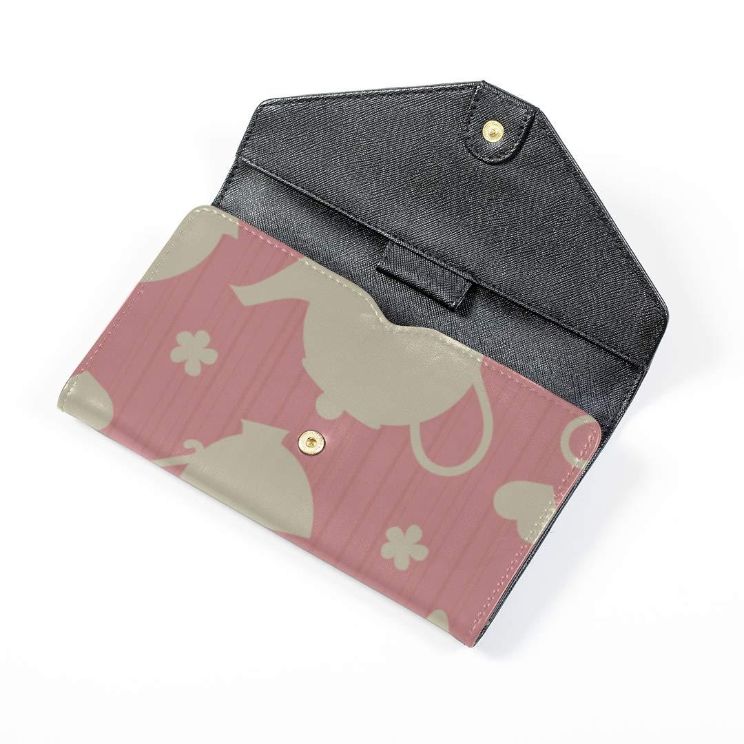 Unisex Passport Travel Case Creative Retro Home Kitchen Teapot Leather/&microfiber Multi Purpose Print Passport Cover Large Travel Wallets For Women Men 7.5x4.2 Inch