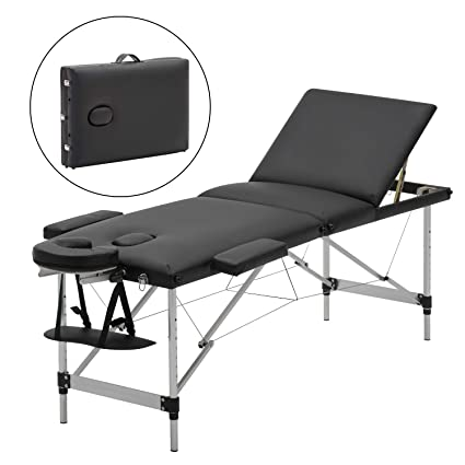 Awe Inspiring Meerveil Portable Massage Table Lightweight Couch Bed Folding Beauty Couch Bed Adjustable Plinth Therapy Reiki Tattoo Salon Beauty Spa Couch With Squirreltailoven Fun Painted Chair Ideas Images Squirreltailovenorg