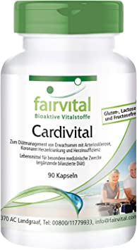 Cardivital - Vitaminas del corazón - rica multivitamínico sin vitamina K
