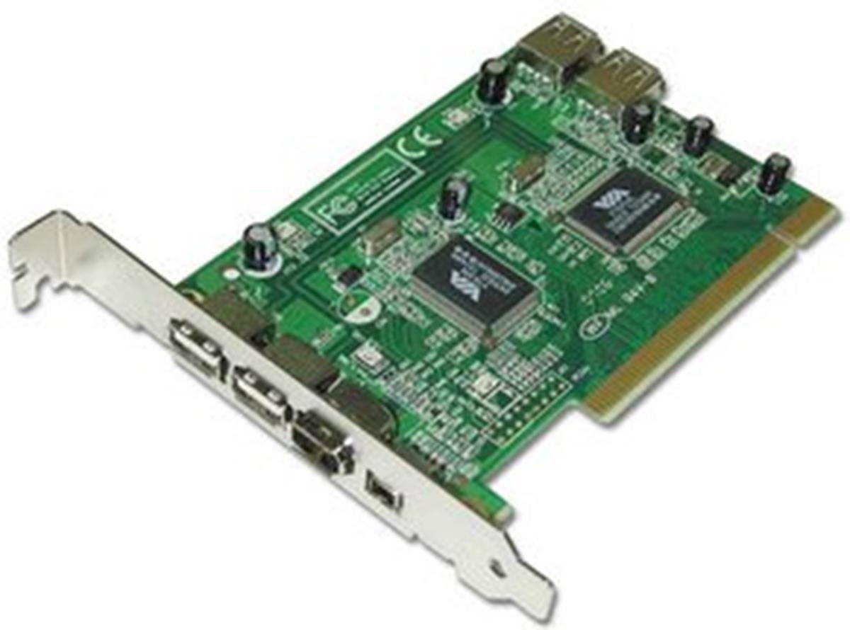 Lindy PCI USB 2.0 / FireWire Combo Card tarjeta y adaptador ...