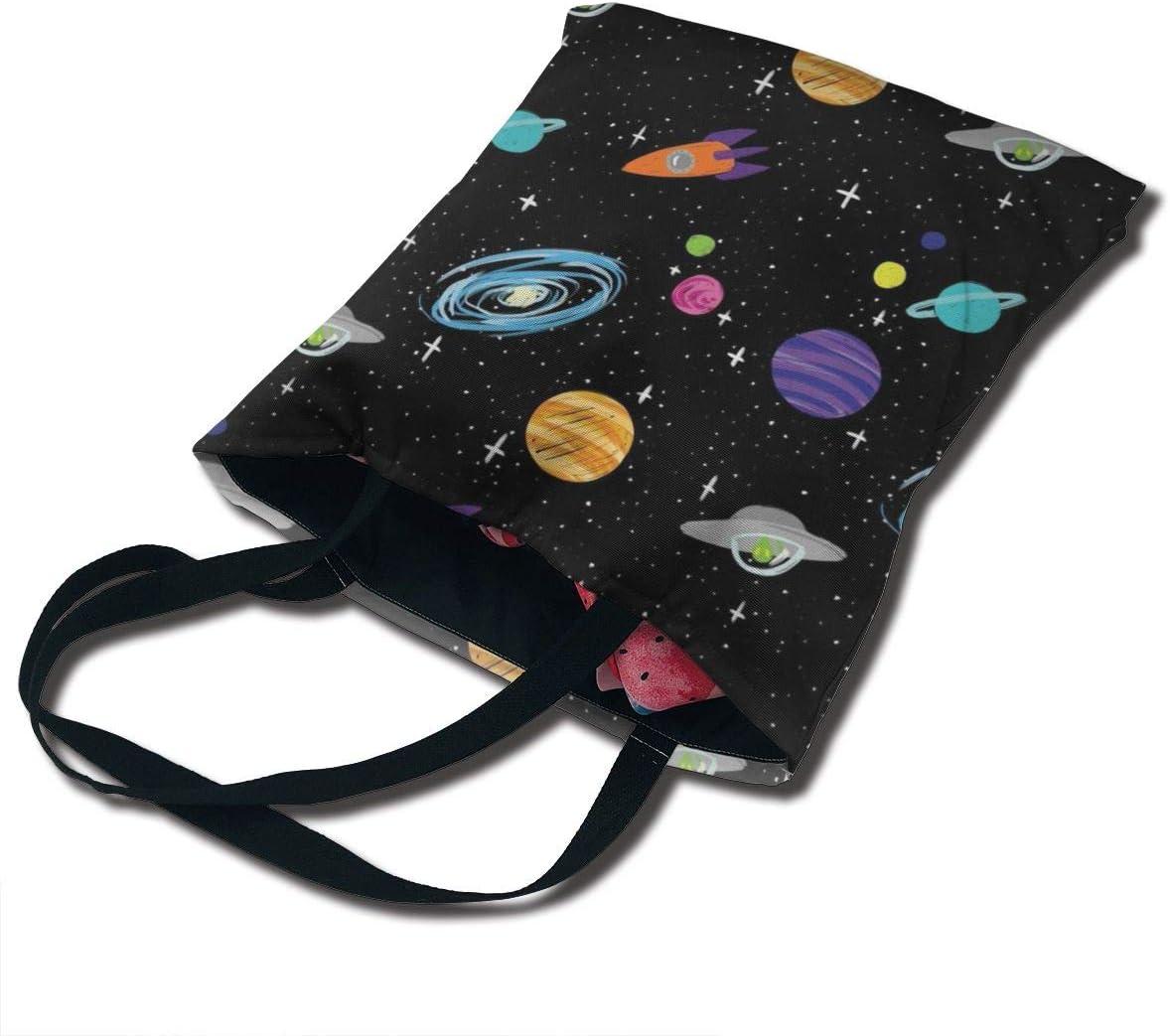 PengMin Space Fashion Womens Multi-Pocket Vintage Canvas Handbags Miniature Shoulder Bags Totes Purses Shopping Bags