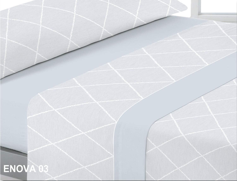 Reig Marti Juego de Cama Completo 3 Piezas Enova Cama de 150 Color Azul