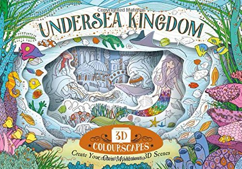 Little Paper Worlds  Undersea Kingdom  Create Your Own Mysterious 3D Scenes