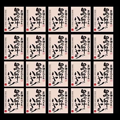 三田屋総本家 黒毛和牛のハヤシ(20食)
