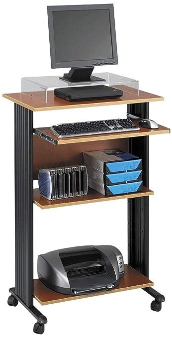 Safco Muv - Mesa de ordenador, vertical, de altura fija, color ...