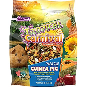 F.M. Brown's Tropical Carnival Guinea Pig Food, 5-Pound