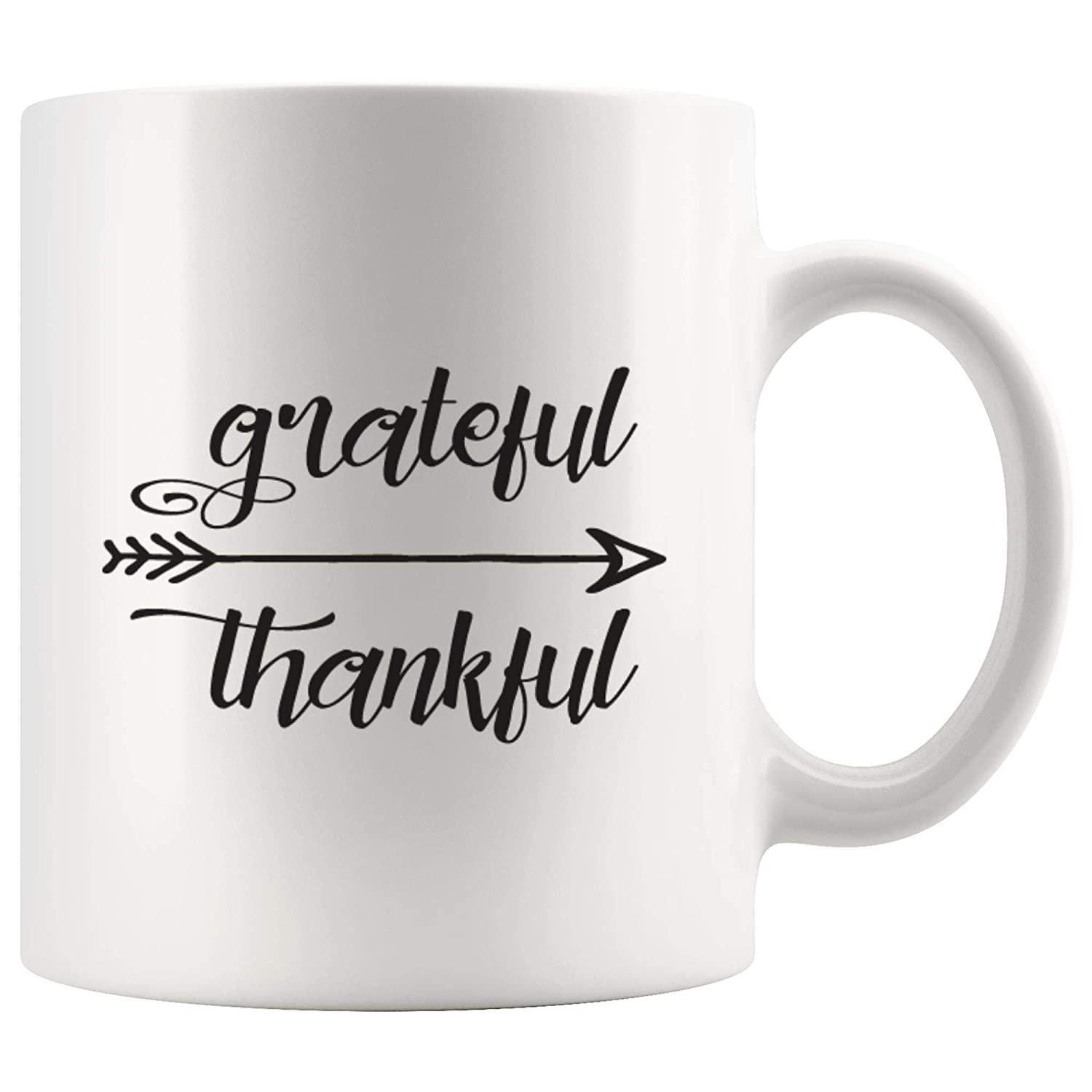 Amazoncom Grateful Thankful Inspirational Coffee Mug