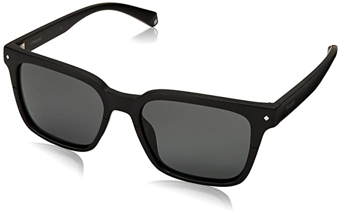 e31c9a8f5c Polaroid PLD6044 S 807 Black PLD6044 S Square Sunglasses Polarised Lens  Categor  Amazon.co.uk  Clothing