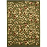 """Cheap Safavieh Lyndhurst Collection LNH326B Traditional Floral Sage Rectangle Area Rug (8'11"""" x 12′)"""